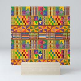 Kente Inspired Mini Art Print