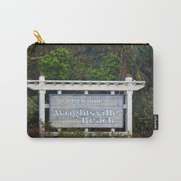 Welcome To Wrightsville Beach Carry-All Pouch