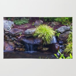Floral Print 053 Rug