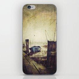 Rugged fisherman iPhone Skin