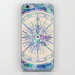 Follow Your Own Path iPhone Skin