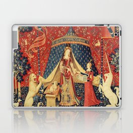 Lady and Unicorn Laptop & iPad Skin