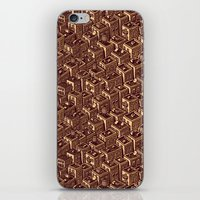 buildings iPhone & iPod Skins featuring Buildings by Mario Zucca