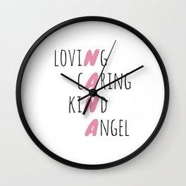 Tribute To Nana Wall Clock