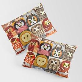 North American Owls Pillow Sham