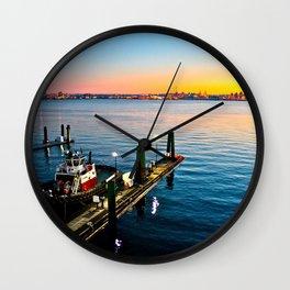 The Quay Wall Clock