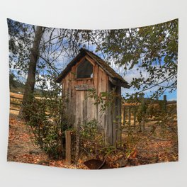 Outhouse Wall Tapestry