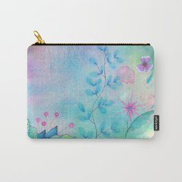 Ethereal garden watercolor painting Carry-All Pouch