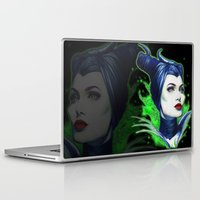 maleficent Laptop & iPad Skins featuring Maleficent by marziiporn