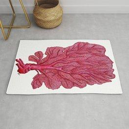Venus red sea fan coral Rug