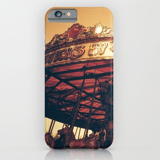 Redscale Carousel iPhone & iPod Case