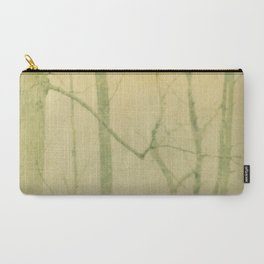 yellow winter trees Carry-All Pouch