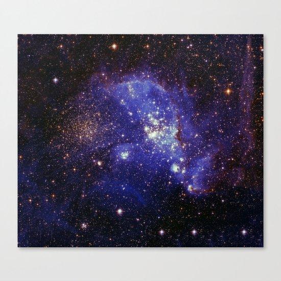 Shining stars Canvas Print