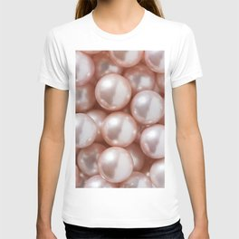 Blush Pink Pearls T-shirt