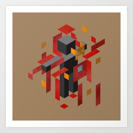 Iron Man Assembled Art Print