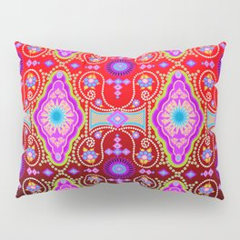 exotic happiness medallions Pillow Sham