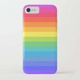 Solid Rainbow iPhone Case