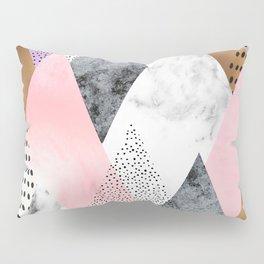 Blush Mountain Pillow Sham