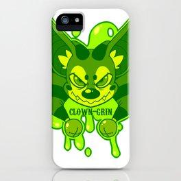 Clown-Grins bat logo iPhone Case