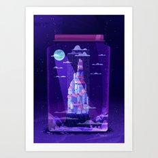 :::Jar citadel::: Art Print
