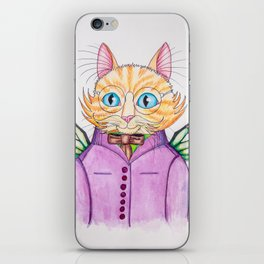 Colonel Ginger Cat iPhone Skin
