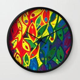 Tribute to the Decendents of the Goddex Kunta (rainbow) Wall Clock