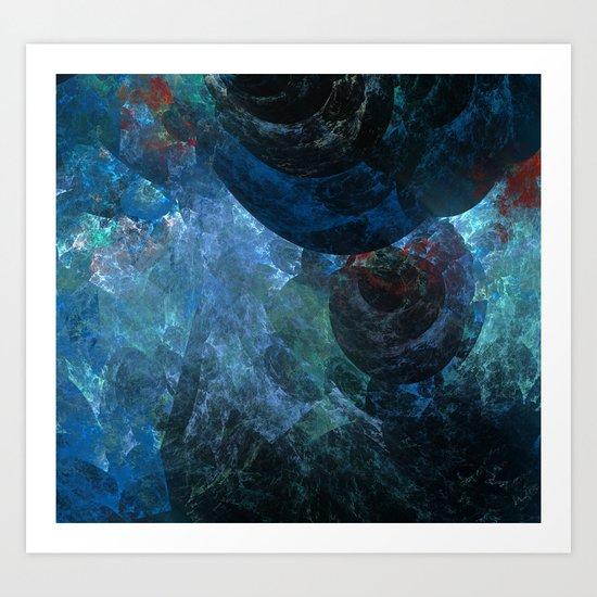 Beneath The Sea Art Print