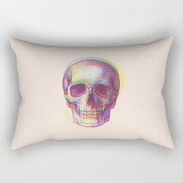 acid calavera Rectangular Pillow