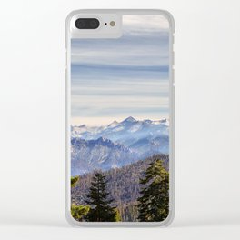 Kings Canyon National Park Clear iPhone Case