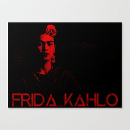 Frida Kahlo (Ver 5) Canvas Print