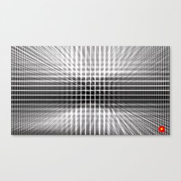 Qpop - Continuum 3 Canvas Print