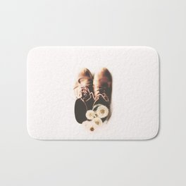 do small things with much love Bath Mat