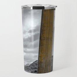 Llanberis Sword Snowdonia Travel Mug