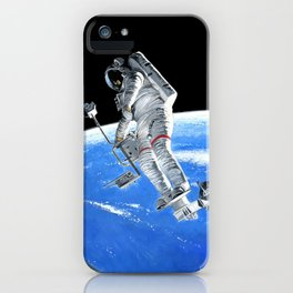 Syncom Salvage iPhone Case