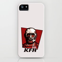 Kentucky Fried Human iPhone Case