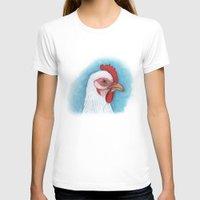 chicken T-shirts featuring Chicken by Gyöngyi Balogh