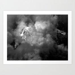 Andes. Art Print
