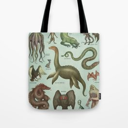 CRYPTIDS Tote Bag