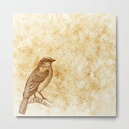Bird Neck Gator Bird Metal Print
