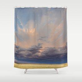 Sky Splash Shower Curtain