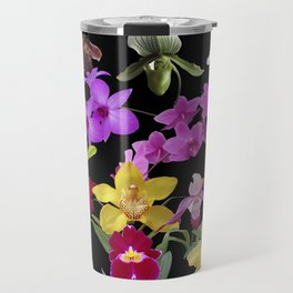 Orchids Galore Travel Mug