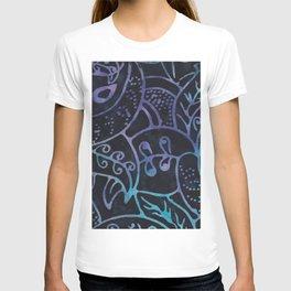 Blue Batik 12 T-shirt