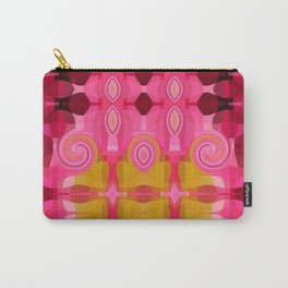 Rapsberry Swirl Carry-All Pouch