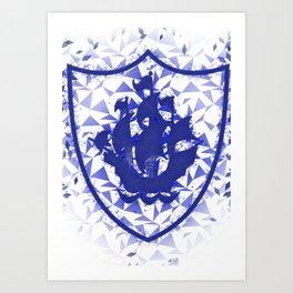 Blue Peter Art Print