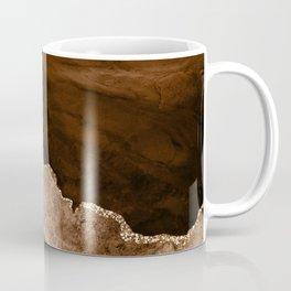 Golden Desert Geode Coffee Mug