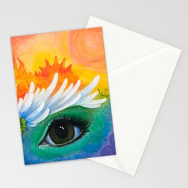 Window To The Soul Stationery Cards