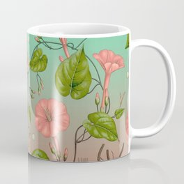 Morning Glory Vine Coffee Mug
