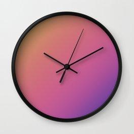Fade pattern Wall Clock