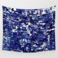 iceland Wall Tapestries featuring Iceland - Greenland by Alison McLean