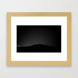 Friday Night Lights Framed Art Print